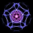 Energetic Geometry – Healing Star Flower of Harmonic Resonance -.. by Leah McNeir