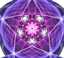 Energetic Geometry – Healing Star Flower of Harmonic Resonance -.. Sticker