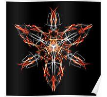 Energetic Geometry – Techno Shaman Energy Focus Invocation Symbol Poster