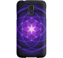 Energetic Geometry - Indigo Prayers Samsung Galaxy Case/Skin