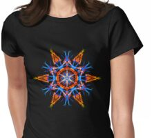 Energetic Geometry - Crystalline Creativity  Womens Fitted T-Shirt