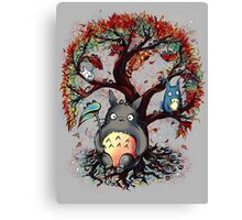 Totoro's Tree Canvas Print