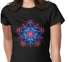 Energetic Geometry - The Magi's Wish    Womens Fitted T-Shirt