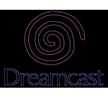 °GEEK° Dreamcast Neon Logo Photographic Print