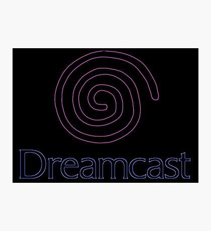 °GEEK° Dreamcast Neon Logo Photographic Print