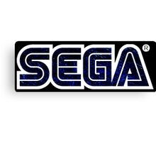 °GEEK° Sega Space Logo Canvas Print
