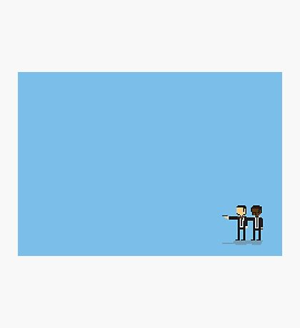 Pixel Fiction Photographic Print