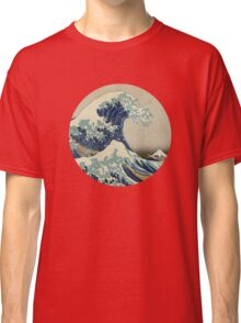 Hokusai Kaiju T-Shirt Classic T-Shirt