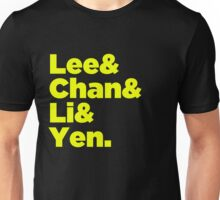 Chinese Martial Arts Legends T-Shirt