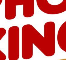 Pho King - Pho Lover's Design  Sticker