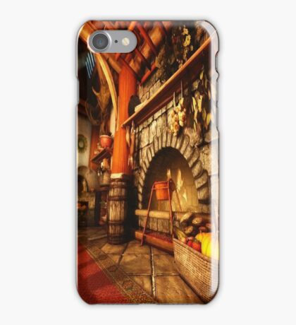 Back at the Homestead iPhone Case/Skin