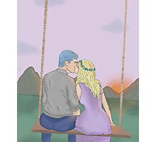 Teddy and Victoire Photographic Print