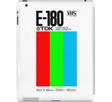 VHS Tape Retro iPad Case/Skin