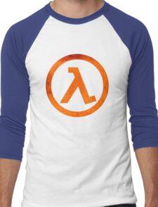 °GEEK° Half Life Rust Logo Men's Baseball ¾ T-Shirt