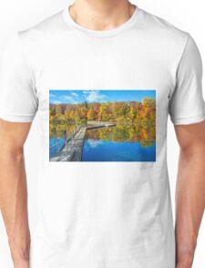 Footbridge Across the Lake Unisex T-Shirt