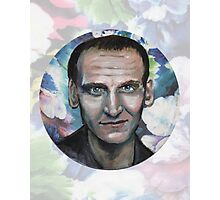 Doctor Who, The Floral Ninth Doctor Photographic Print