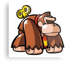 Donkey Kong Toy Metal Print