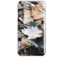 Microcosm in an Autumn Pond iPhone Case/Skin