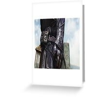 The Devil is in the Details 2 Greeting Card