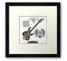 Celtic Warrior Guitar Framed Print