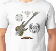 Celtic Warrior Guitar Unisex T-Shirt