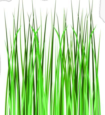 Grass, Gardening, Lawn, Cut the Grass, Sticker