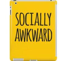 Socially awkward iPad Case/Skin