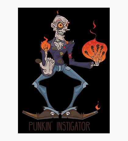 PUNKIN' INSTIGATOR Photographic Print