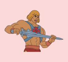 He-man Filmation style Kids Tee