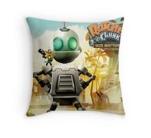 RATCHET CLANK MATTERS RAB Throw Pillow