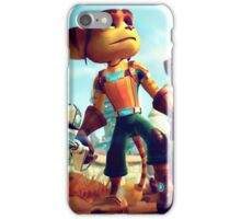 RATCHET CLANK RAB 1 iPhone Case/Skin