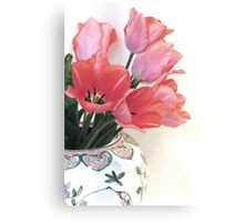 Gathered Tulips Canvas Print
