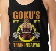 Goku's Gym - Deadlift Logo Tank Top