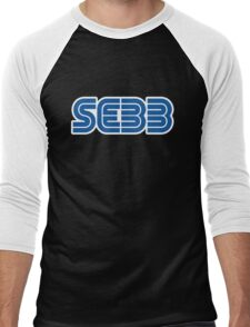 SEBB STRIFE SEGA LOGO Men's Baseball ¾ T-Shirt