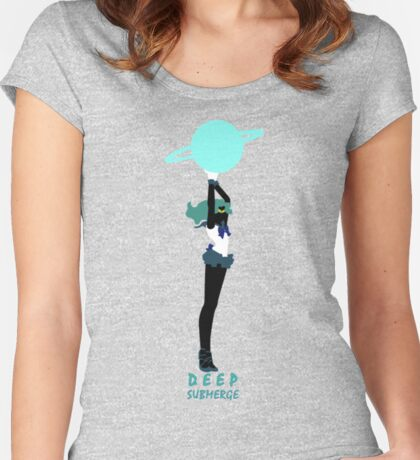 Deep Submerge Women's Fitted Scoop T-Shirt