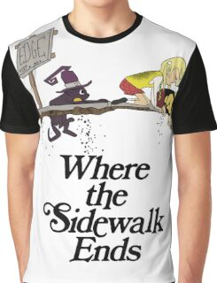 Soul Eater Where the sidewalk ends Graphic T-Shirt