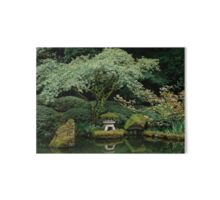 Serenity at a Japanese Garden Gallery Board