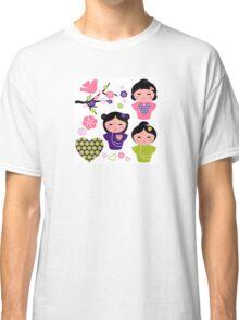 Little love Geishas, love design elements Classic T-Shirt