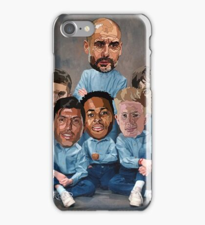 Family portrait - City  iPhone Case/Skin