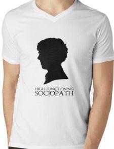 High-Functioning Sociopath Mens V-Neck T-Shirt