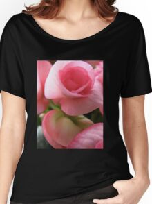 Begonia Bloom Women's Relaxed Fit T-Shirt