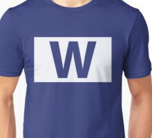 Chicago Cubs Majestic W Flag Unisex T-Shirt