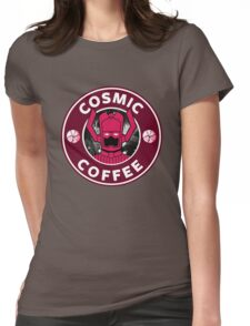 Galactus' Coffee House Womens Fitted T-Shirt