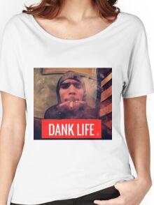 chris brown dank life Women's Relaxed Fit T-Shirt