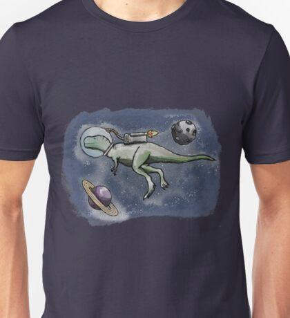 A Space Dinosaur - Colour Unisex T-Shirt