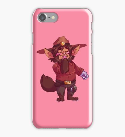 Little Werewolf Mccree :3c iPhone Case/Skin