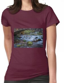 Under the wee Bridge Womens Fitted T-Shirt