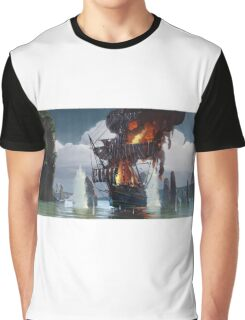 Abandon Ship Graphic T-Shirt