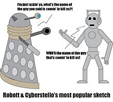 Robott & Cyberstello Photographic Print