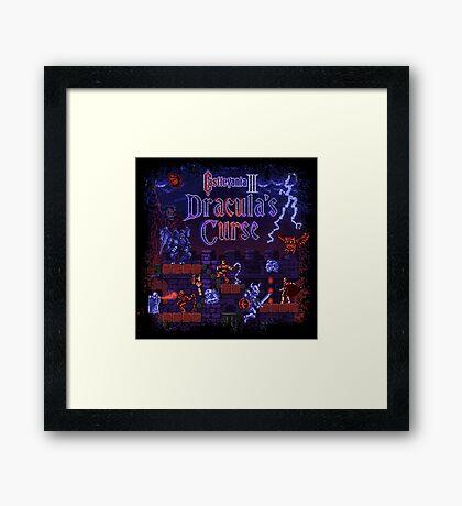 Curse Vania Dracula's Castle 3 Framed Print